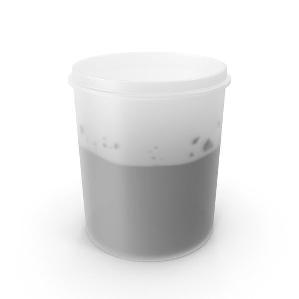 Paint in Plastic Cup