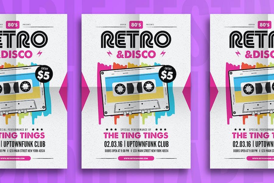 Retro & Disco Flyer
