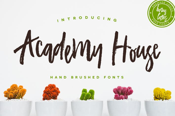 Thumbnail for Academy House Font