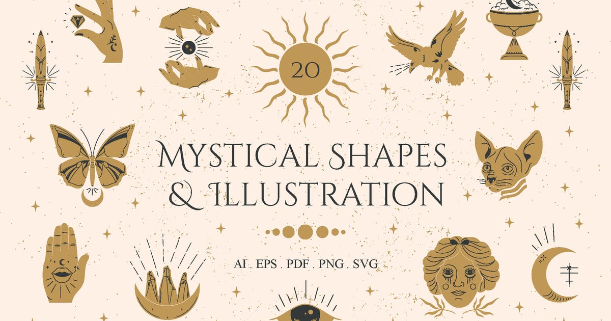 Download Mystical Shapes & Illustration by visuelcolonie