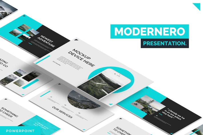 Thumbnail for Modernero - Powerpoint Template