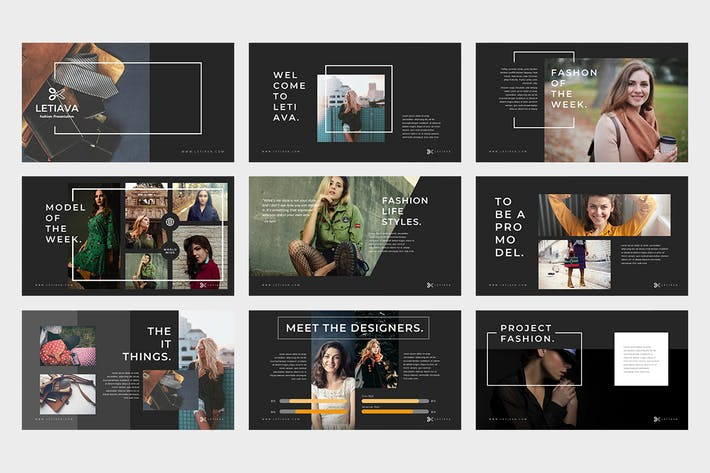 Thumbnail for Letiava: Google PräsentationsVorlage