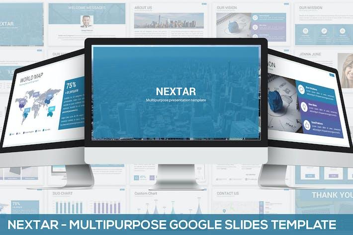 Nextar - Multipurpose Google Slides Template