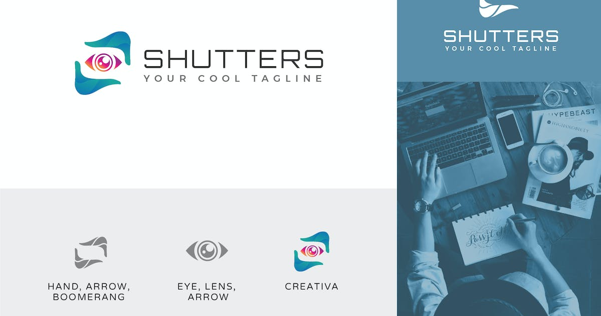 Download Shutter Photography Logo Vector Template by naulicrea
