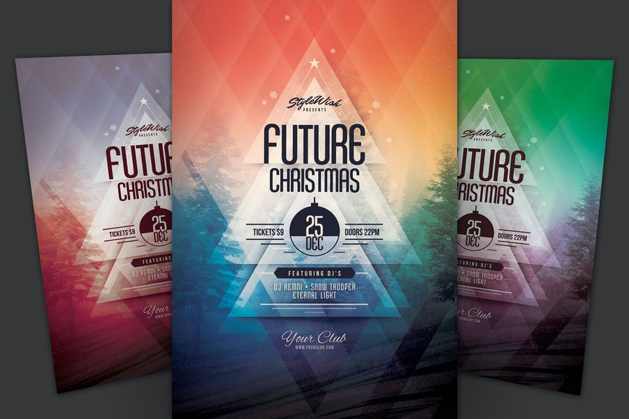 Future Christmas Flyer