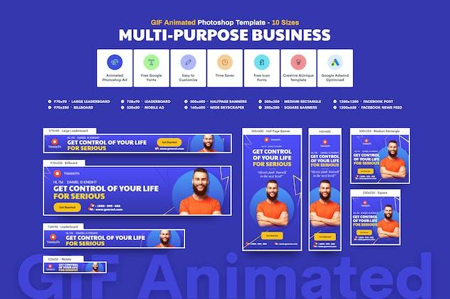 GIF Banners - Multi-Purpose Business