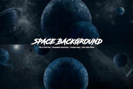 Arrière-plan de l'espace