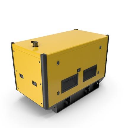 Stromerzeuger gelb