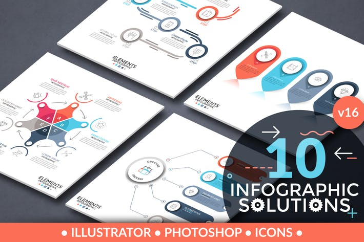 Thumbnail for Infographic Solutions. Part 16