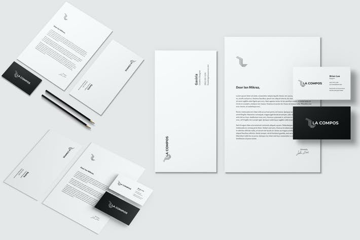 Thumbnail for Stationery Brand Identity Mockup
