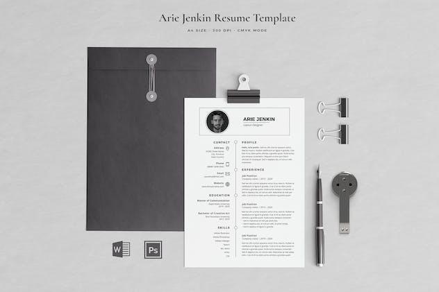 Clean Resume Jenkin