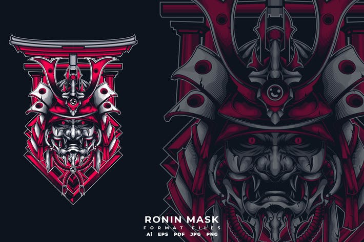 Cover Image For Ronin Mask