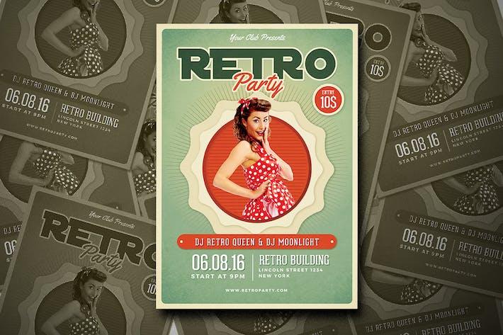 Thumbnail for Retro Flyer