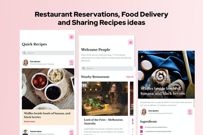 Thumbnail for Vanille - Restaurant Reservations & Food Delivery