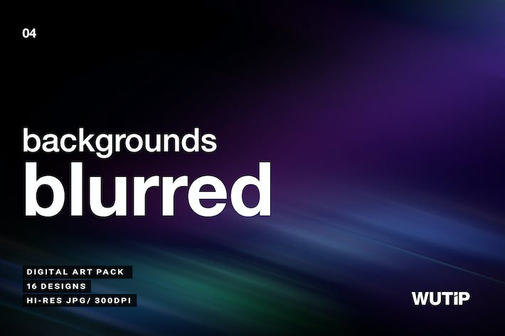 Cover Image For Blurred Backgrounds Vol.4