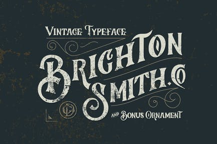 Brighton Smith Tipo de letra