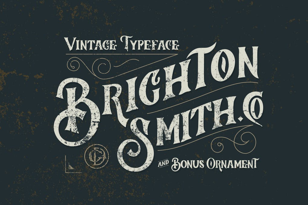 Brighton-Smith-Typeface