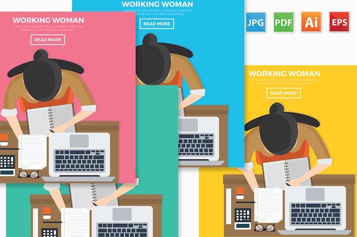 Thumbnail for Дизайн рабочей женщины