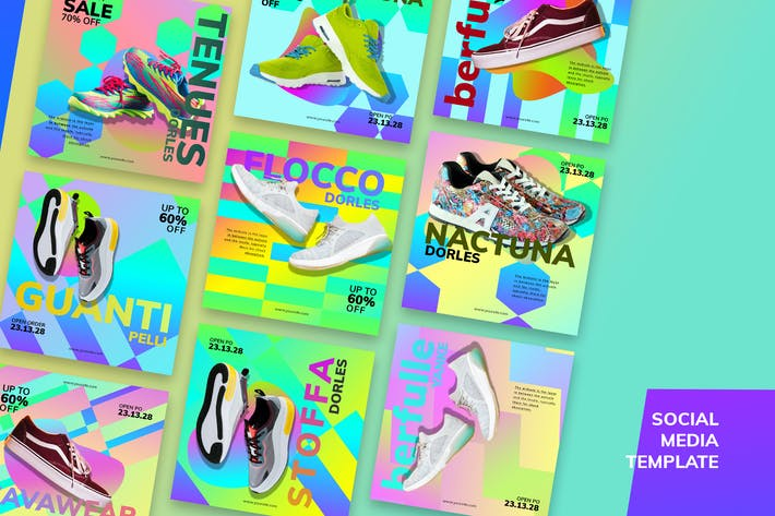Thumbnail for Sneakers Market Social Media Kit