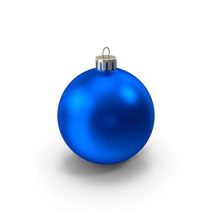 Синий Рождественский орнамент