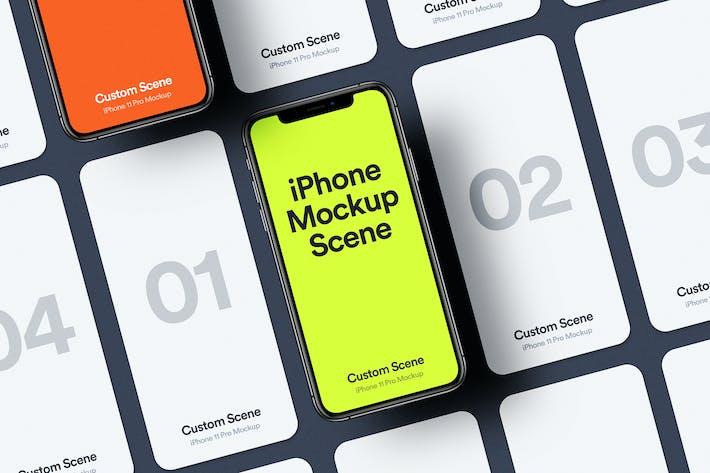 Thumbnail for iPhone 11 Pro Mockup Scene 02
