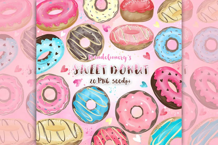 Thumbnail for Donut Cliparts