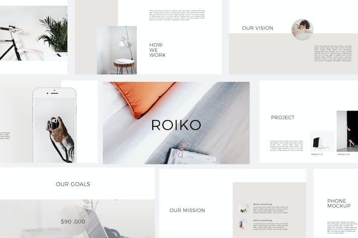 Thumbnail for Reiko - Keynote Templates