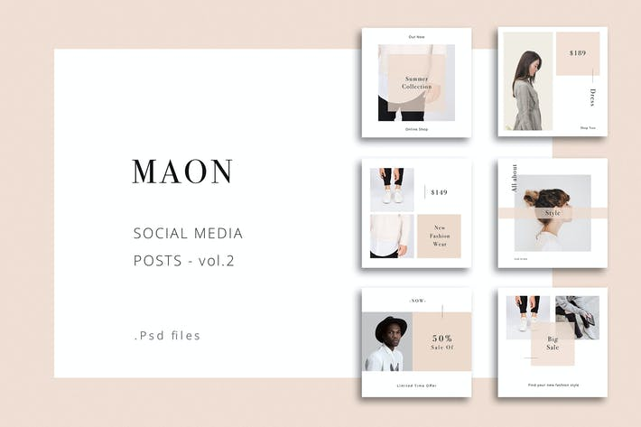 Thumbnail for MAON - Social Media Posts vol.2