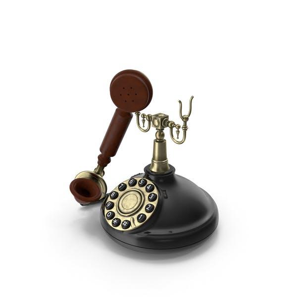 Antikes Telefon der 1920er Jahre