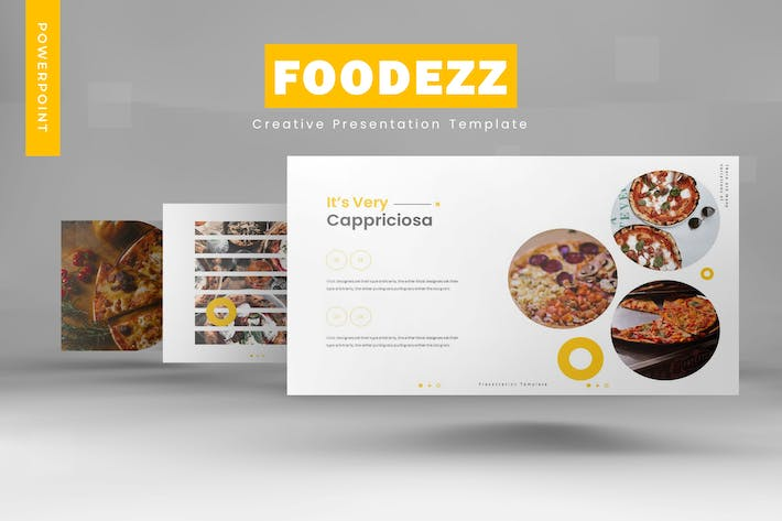 Thumbnail for Foodezz - Powerpoint Template