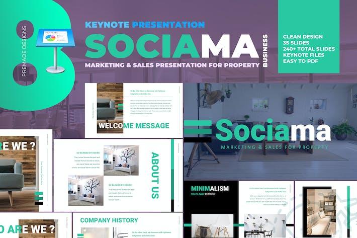 Thumbnail for Sociama Keynote - Clean Marketing and Sales