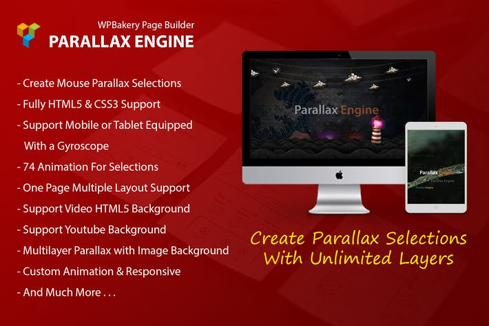 Parallax Engine - Addon For WPBakery Page Builder