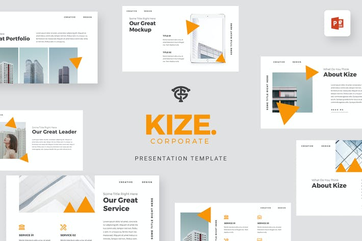 Thumbnail for Kize Корпоративный - Powerpoint