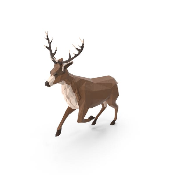 Cover Image for Low Poly Stag