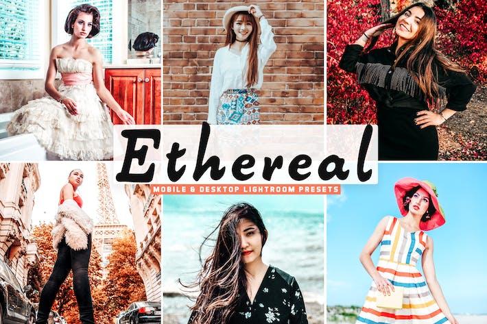 Thumbnail for Ethereal Mobile & Desktop Lightroom Presets