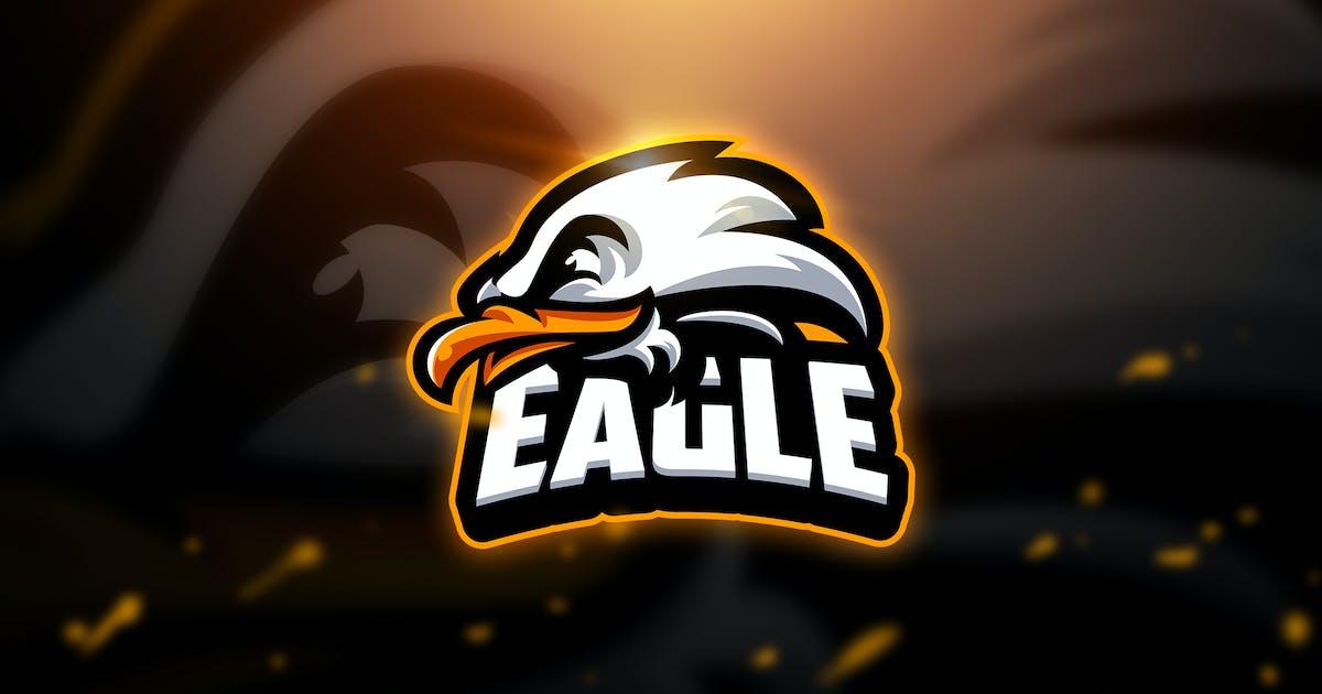 Eagle - Mascot & Esport Logo by aqrstudio