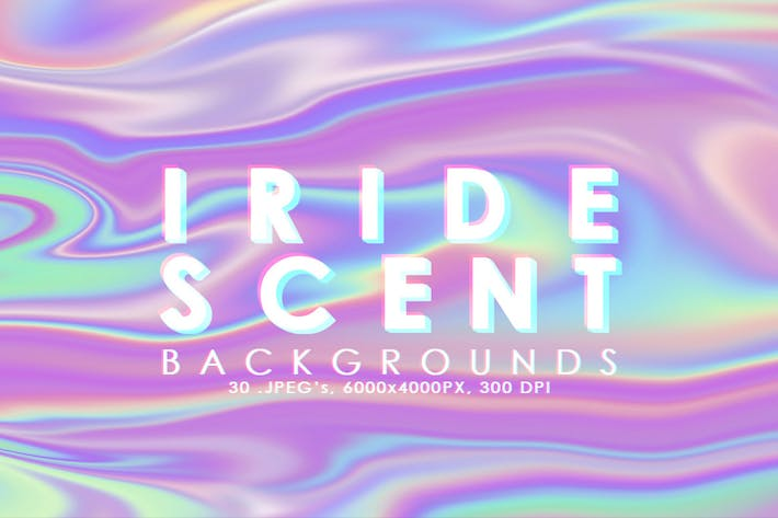 Thumbnail for Iridescent Abstract Backgrounds