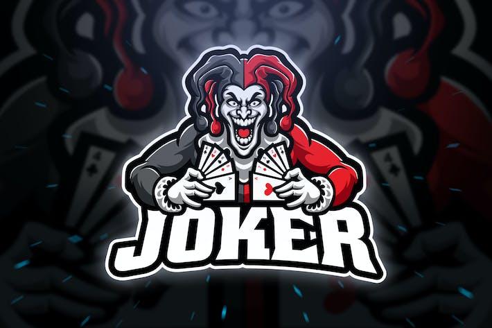 Thumbnail for Joker Sport and Esport Logo Template