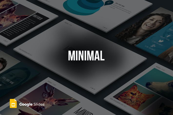Thumbnail for Minimal - Google Slides templates