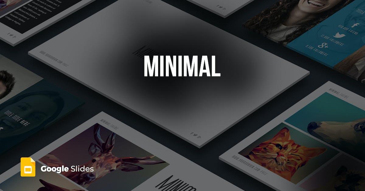 Minimal - Google Slides templates by Unknow
