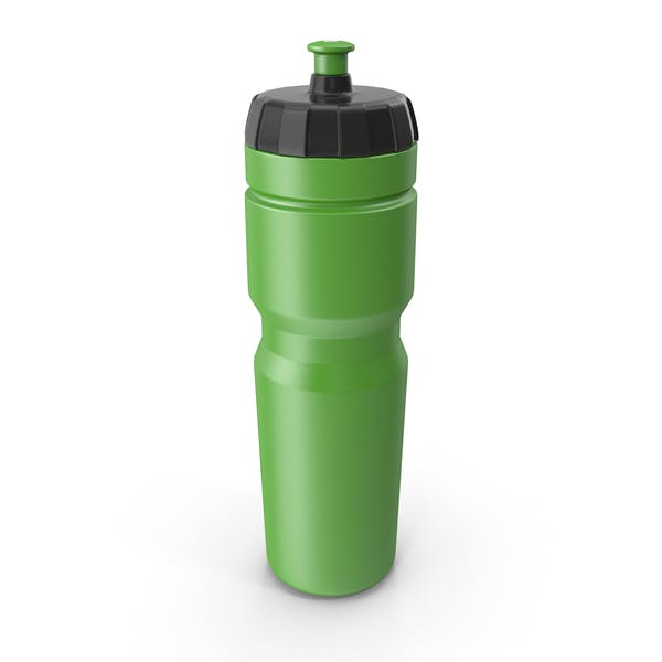 Green Sport Bottle