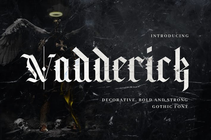 Thumbnail for Vadderick - Vintage Handlettering Calligraphy