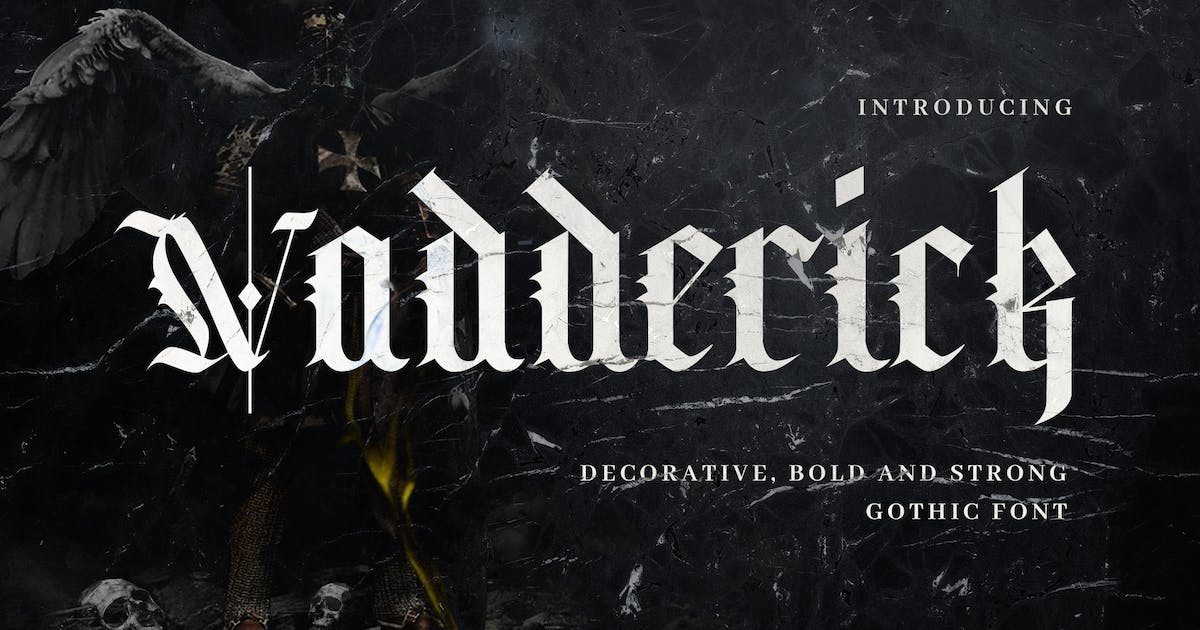 Download Vadderick - Vintage Handlettering Calligraphy by naulicrea