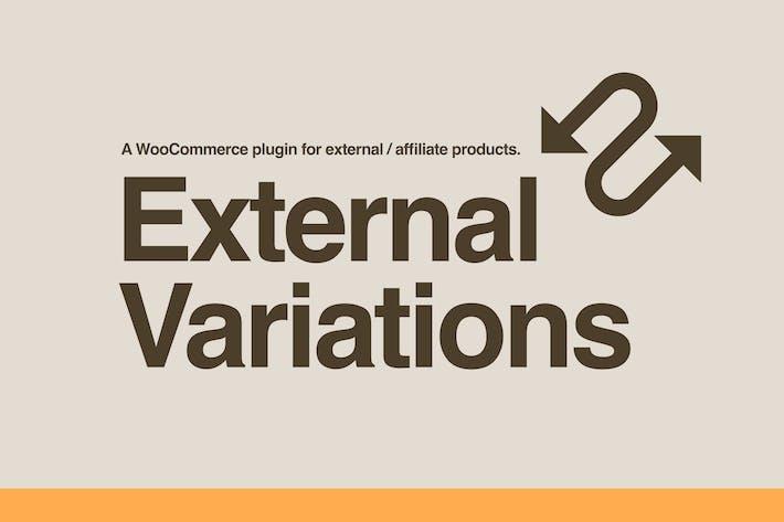 Thumbnail for External Variations WooCommerce Plugin