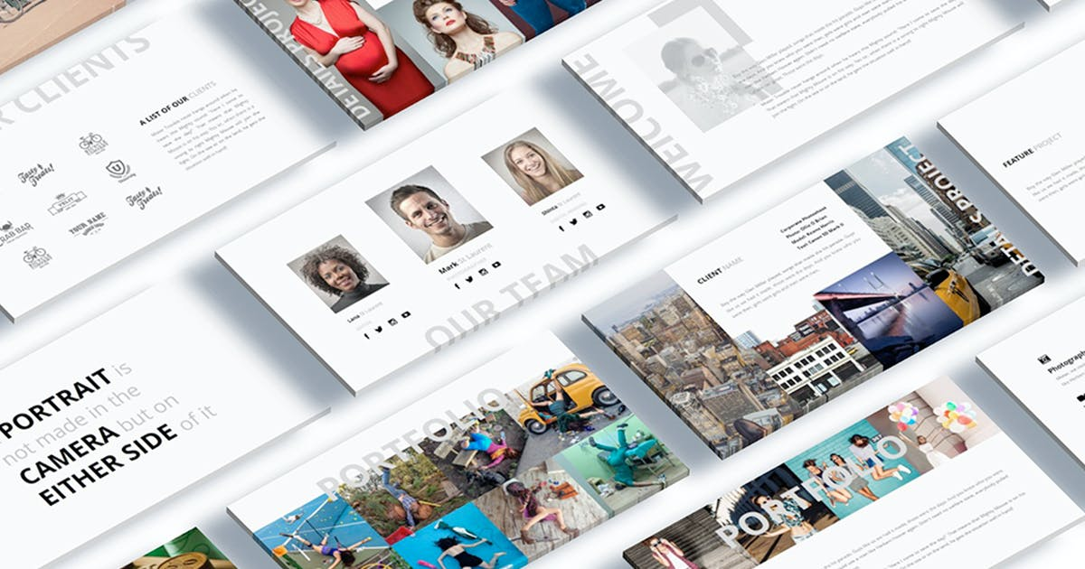Pocketgraph Photography Powerpoint Presentation by Unknow