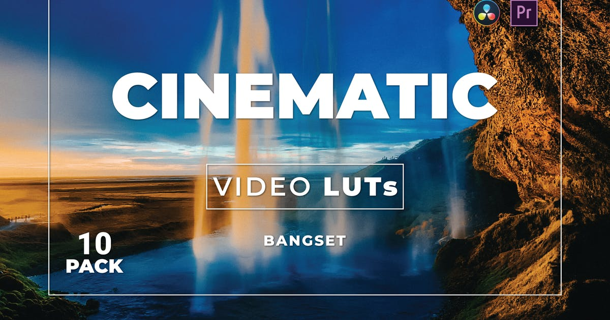 Download Bangset Cinematic Pack 10 Video LUTs by Bangset
