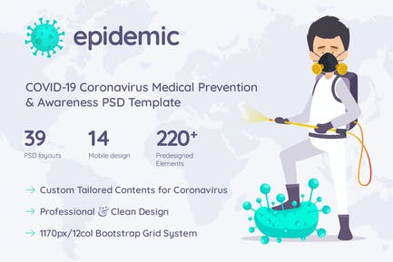 Epidemic COVID-19 Prevention & Awareness Template