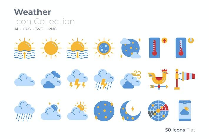 Wetter Farbe Icon