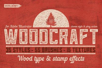 Woodcraft for Adobe Illustrator