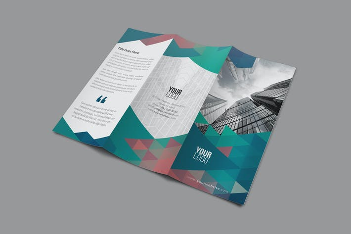 Thumbnail for Modern Trifold Brochure